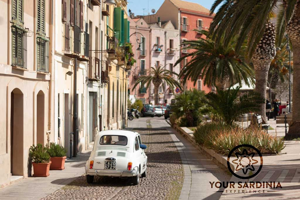 FIAT 500 City Tour Cagliari